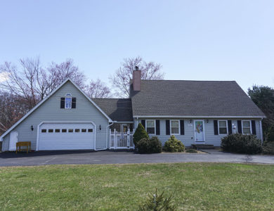 photo of a roof replaced in Shrewsbury Ma by Northeast Home