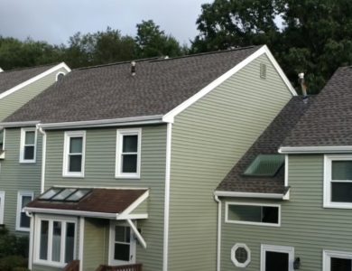 Condominium Roof replacement in South Grafton by Commercial Roofing Contractor Northeast Home & Energy