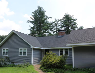 Roof replaced by Northeast Roofing Company